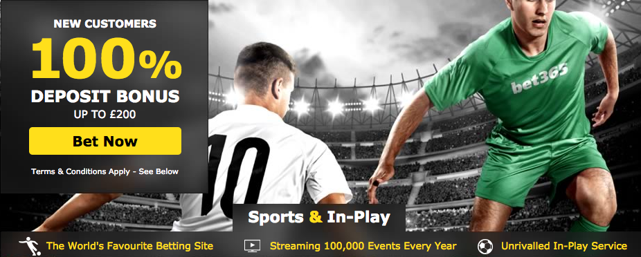 Betshare Saturday offer - bet365