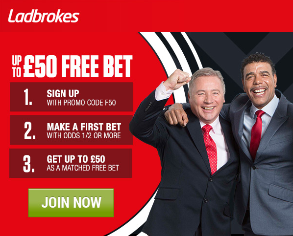Betshare Wednesday offer - Ladbrokes
