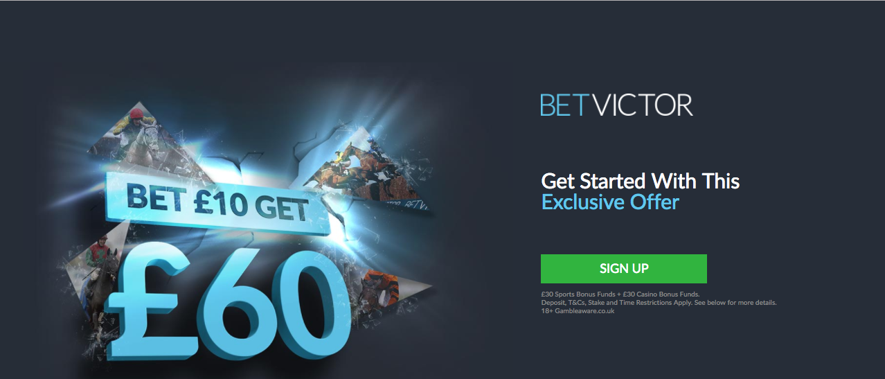 Betshare Thursday offer - betVictor
