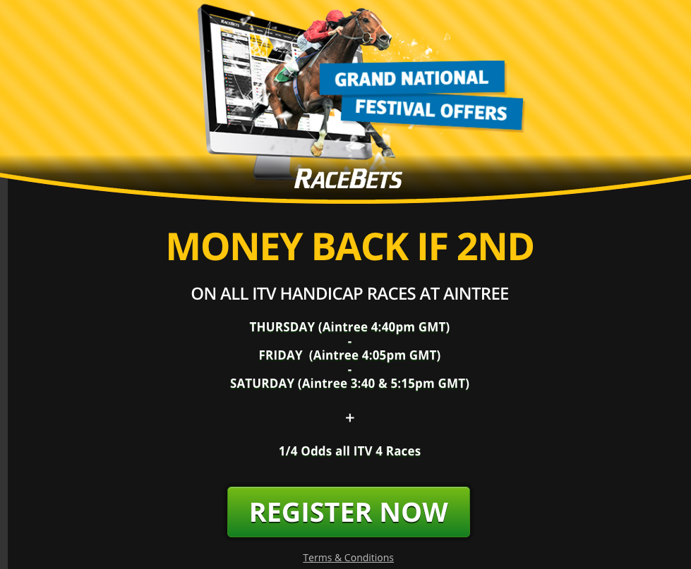 Racebets Grand National promotion
