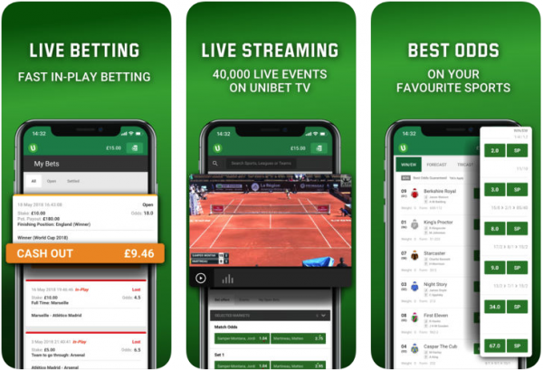 Unibet app on the app store and play store review - download for free today