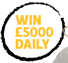 Win 5 grand daily with Racebets