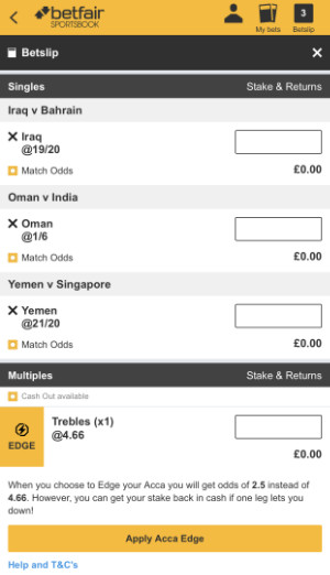 World Cup treble