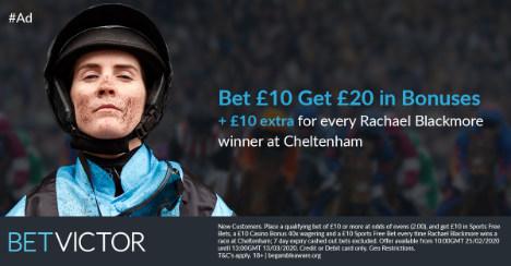 BetVictor Cheltenham new customer offer