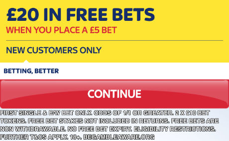 Skybet offer for new customers