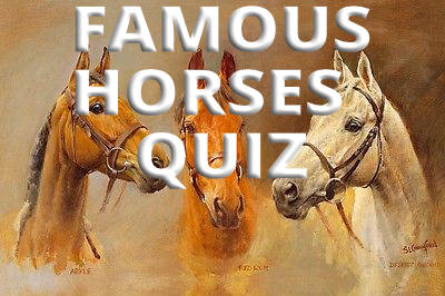 famous horses quiz