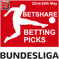 Bundesliga betting picks – 23rd May 2020
