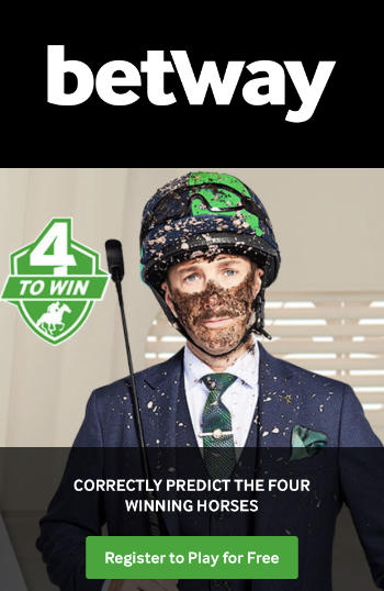 Betway 4 to win details