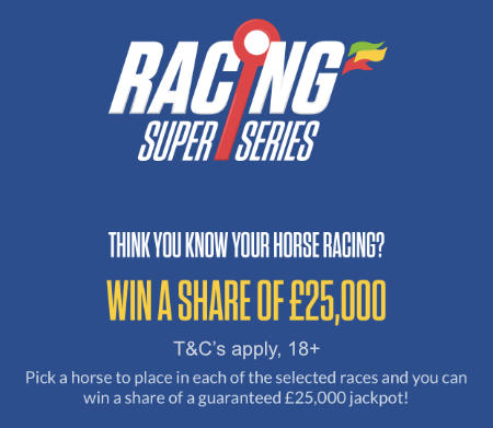 Coral Racing Super Series banner