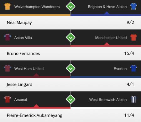 4 to score predictions